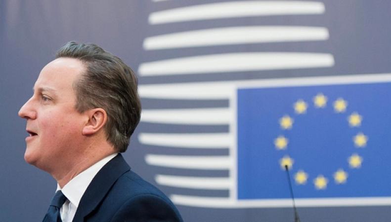 Дэвид Кэмерон в Брюсселе
