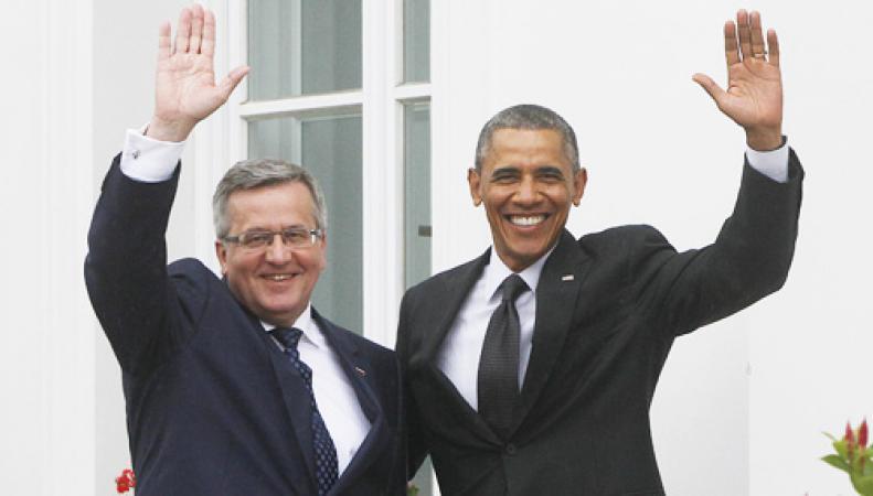 Лидеры США и Польши обсудили вопросы НАТО и ситуацию в Украине