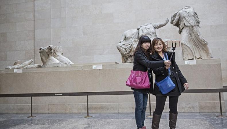 Селфи в Британском музее
