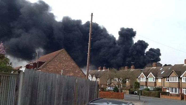 Пожар в Вейбридже