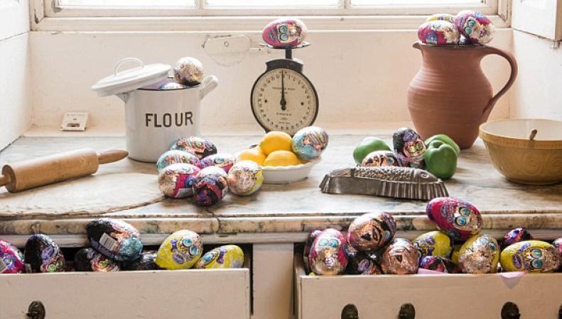 пасхальные яйца Cadbury