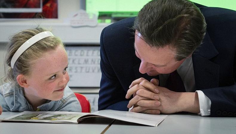 Дэвид Кэмерон в начальной школе