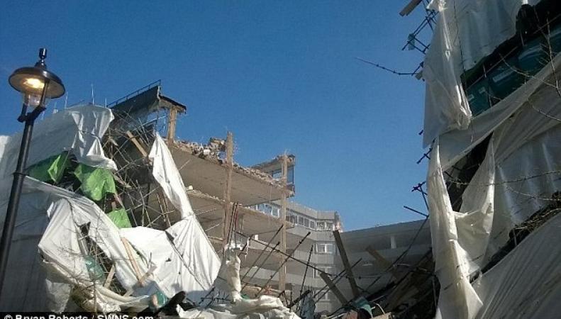 Обрушение здания в Холборне