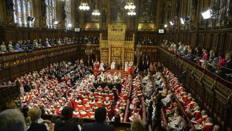 заседание палаты лордов