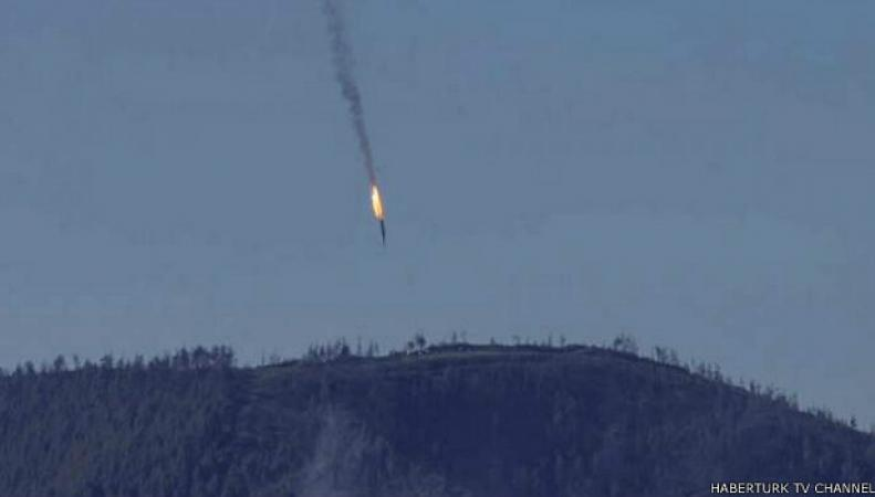 Сбит российский Су-24: последние повости