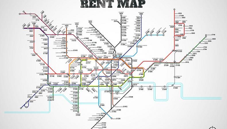 альтернативная карта метро Лондона