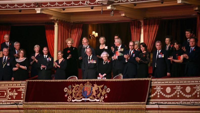королевская ложа в Альберт-Холле