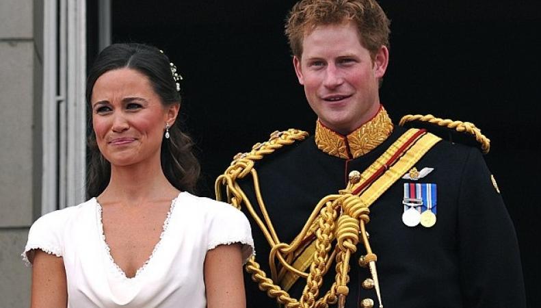 принц Гарри и Пиппа Миддлтон