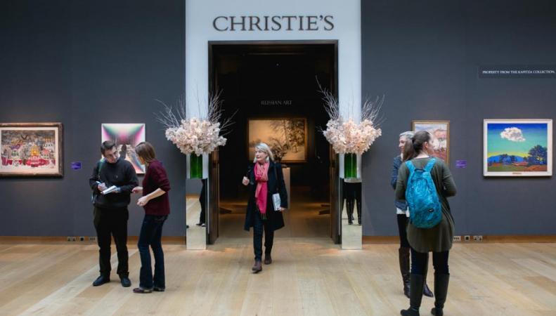 Аукционный дом Christie's, русские торги ноябрь-декабрь 2015