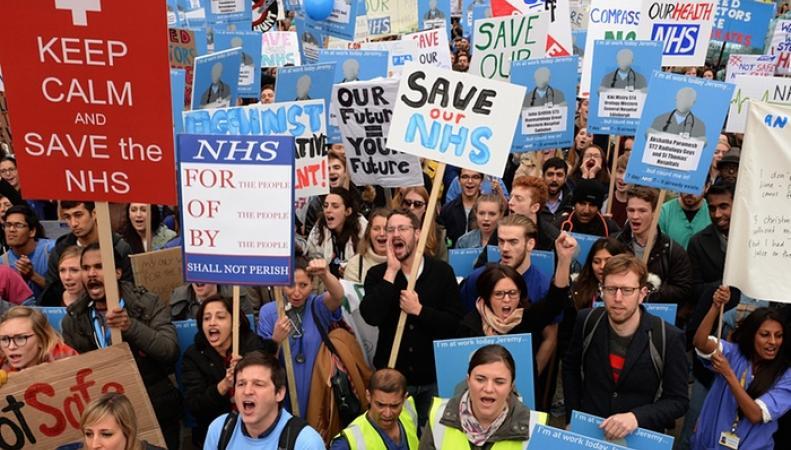 забастовка врачей NHS