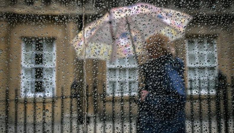 дождливая погода в Англии
