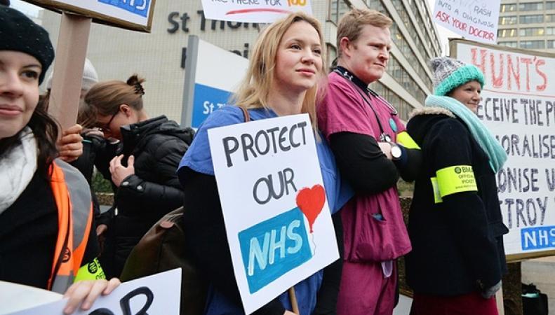 забастовка молодых врачей