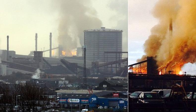пожар в Порт-Толботе