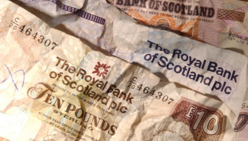 Шотландские фунты стерлингов