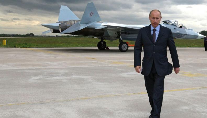 Путин увеличивает присутствие в Сирии