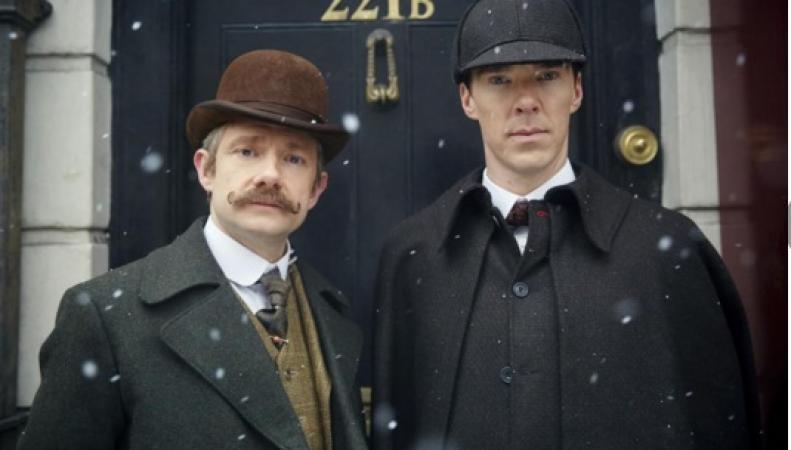 викторианский эпизод сериала Шерлок