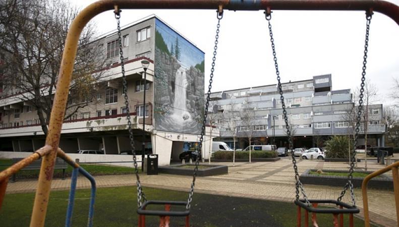 упадочные районы Лондона