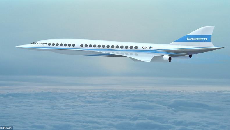 сверхзвуковой самолет Boom