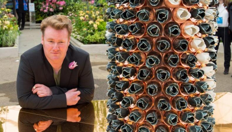 Пол Камминс керамические цветы