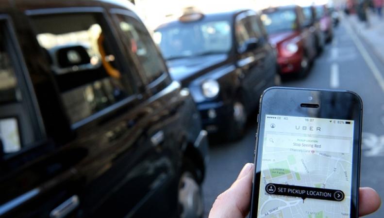 заказ машины в Uber