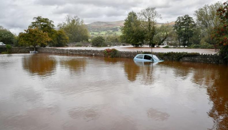 потоп в Кармантеншире