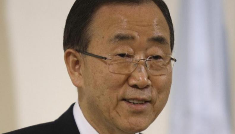 Пан Ги Мун, генсек ООН