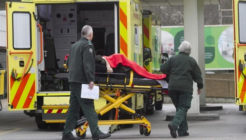 приемное отделение британской больницы