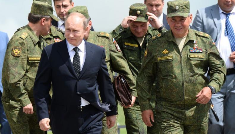 Путин идёт в наступление
