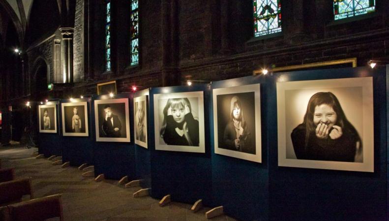 В Эдинбурге открыта выставка, посвященная людям, страдающим синдромом Дауна