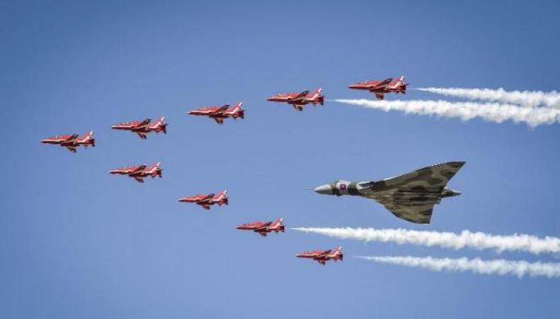 самолеты королевских ВВС