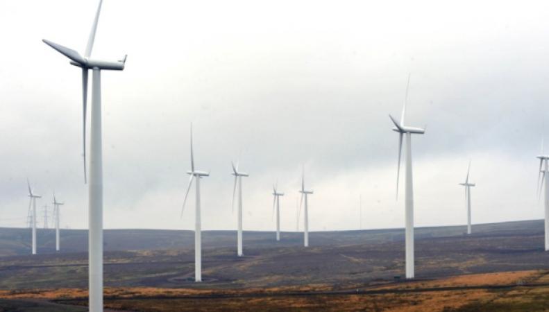Ветровые установки в Шотландии