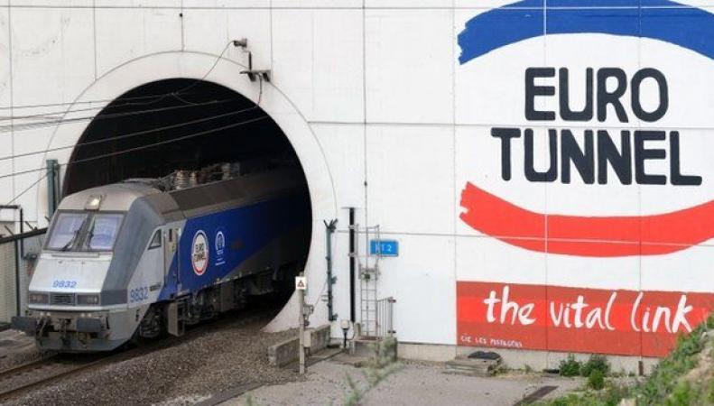 въезд в Евротуннель