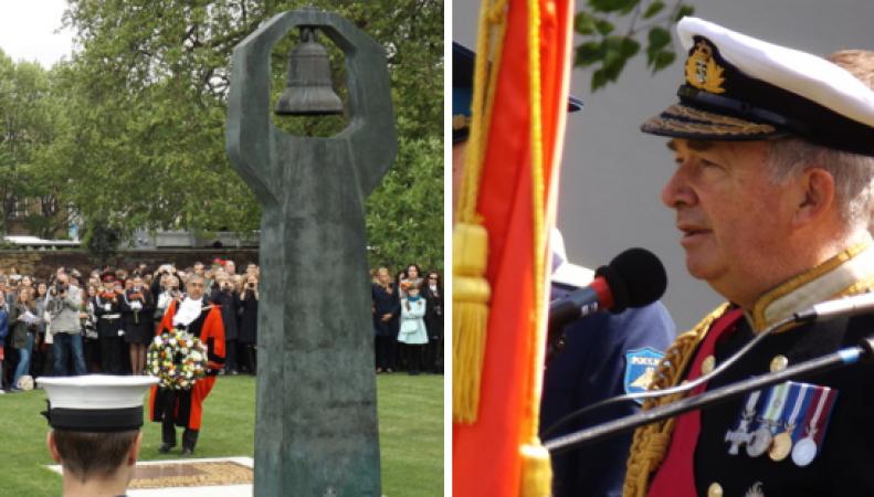 Мемориал советскому солдату в Лондоне