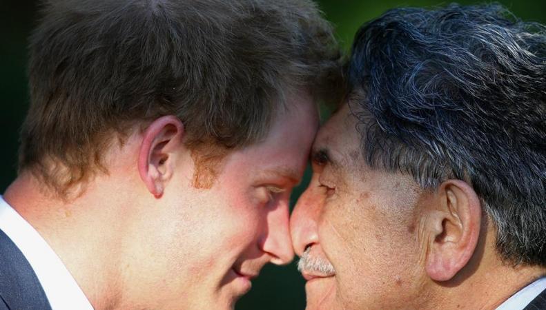 принц Гарри в Новой Зеландии