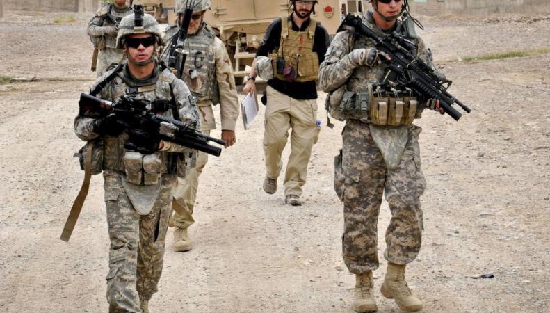 Военные Великобритании покидают Афганистан