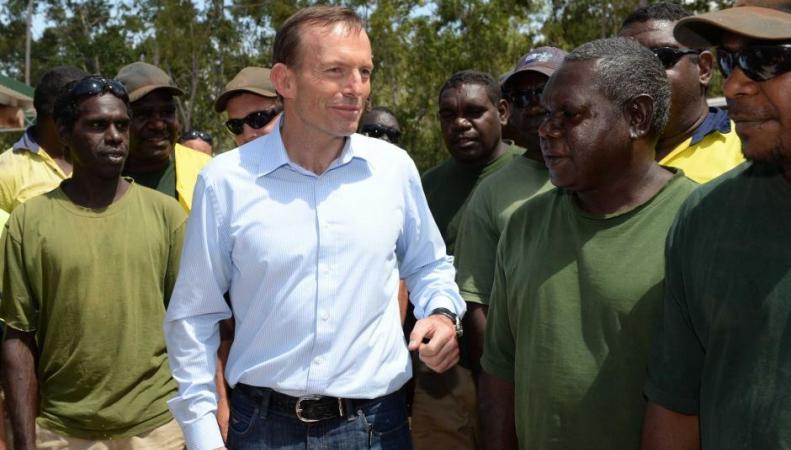 Тони Эббот проигнорировал аборигенов в ходе международной встречи