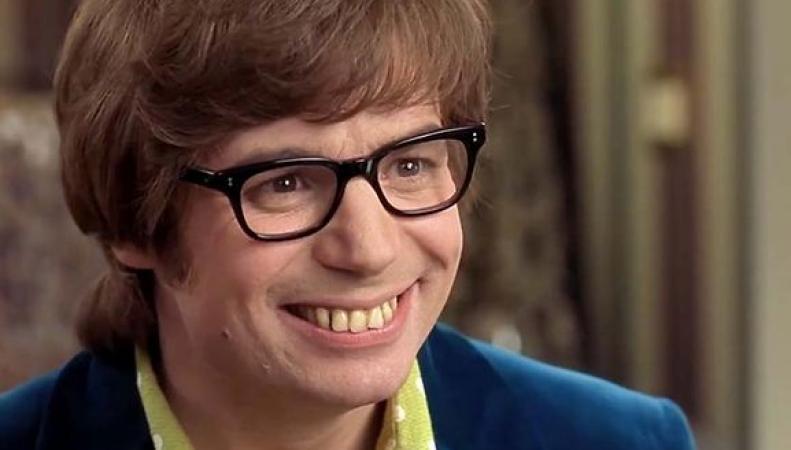 Остин Пауэрс кривые зубы