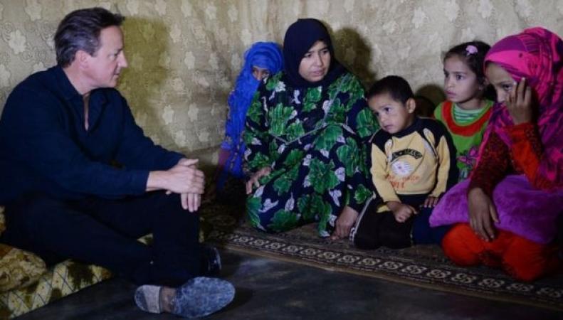 Кэмерон и беженцы из Сирии