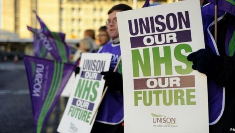 акции протеста в Великобритании