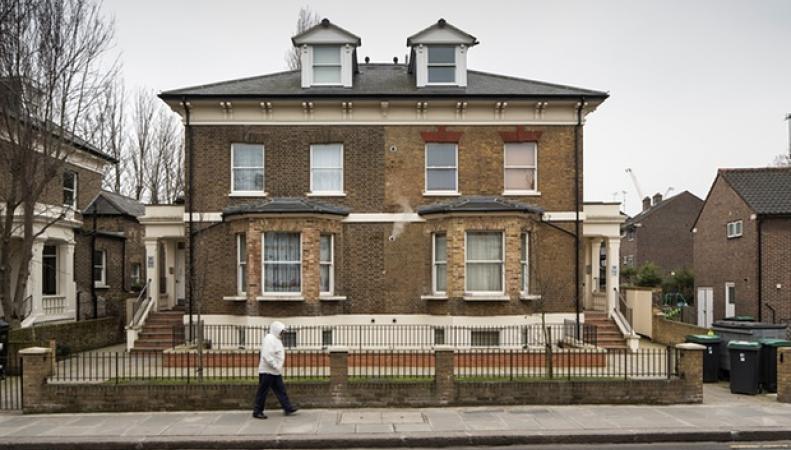 пустующий лондонский дом