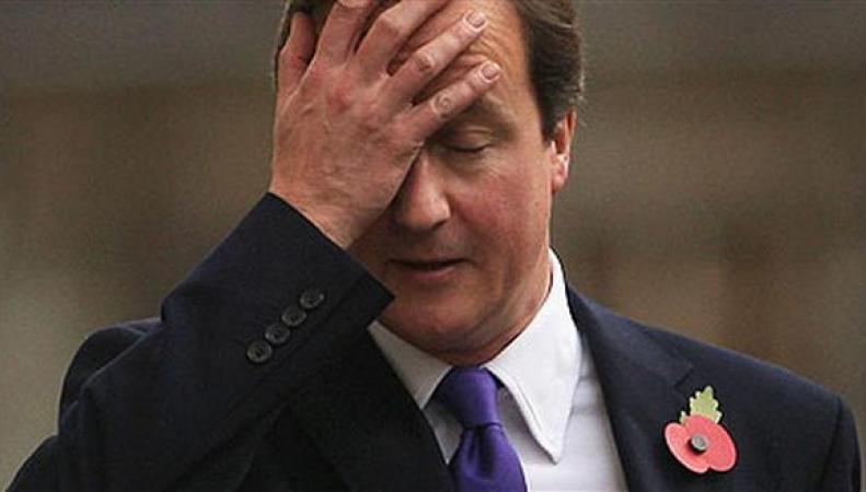 Кэмерона не узнают в Великобритании