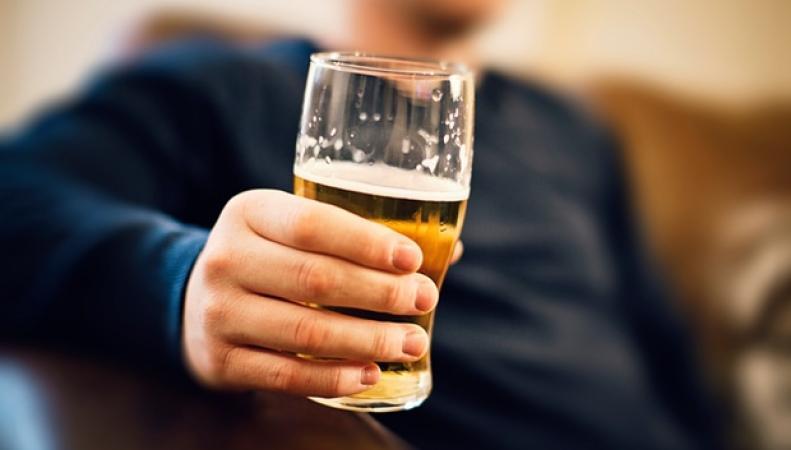 потребление алкоголя в Англии