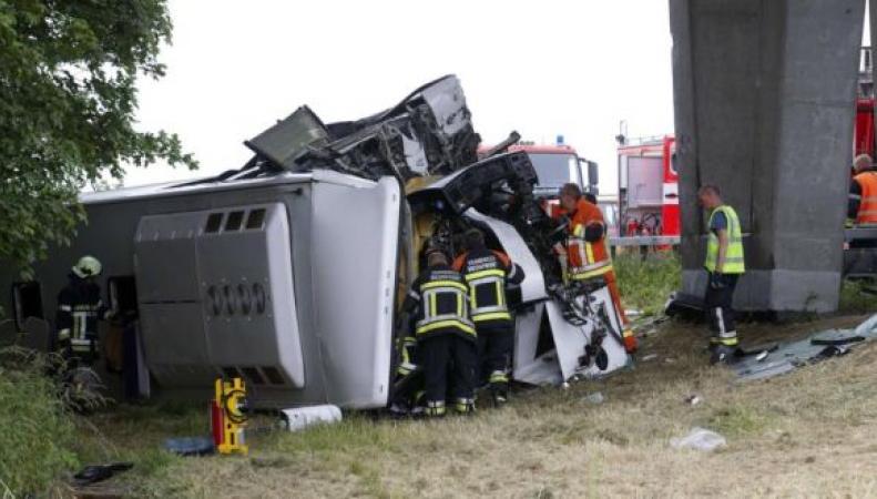 Автобус разбился во Фландрии