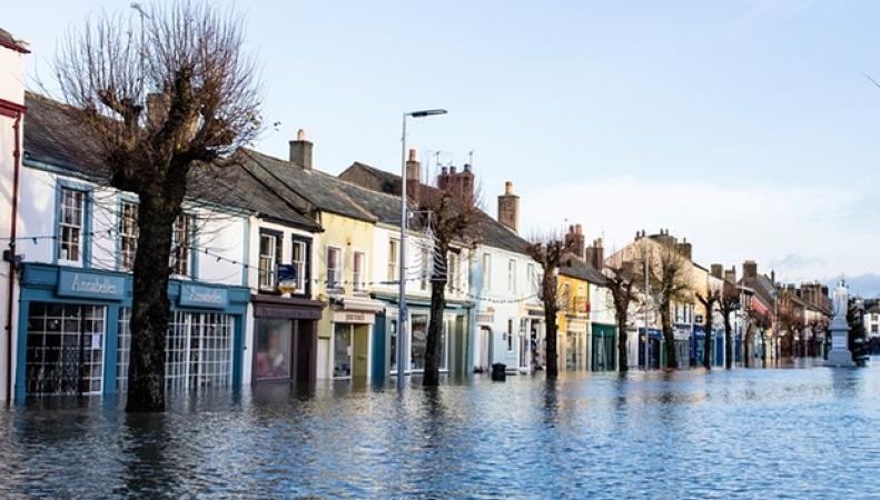 Наводнение в Камбрии
