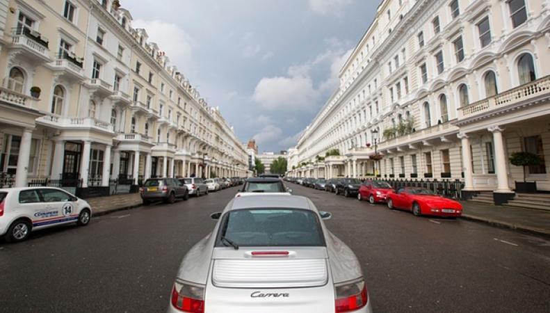 район Кенсингтон в Лондоне