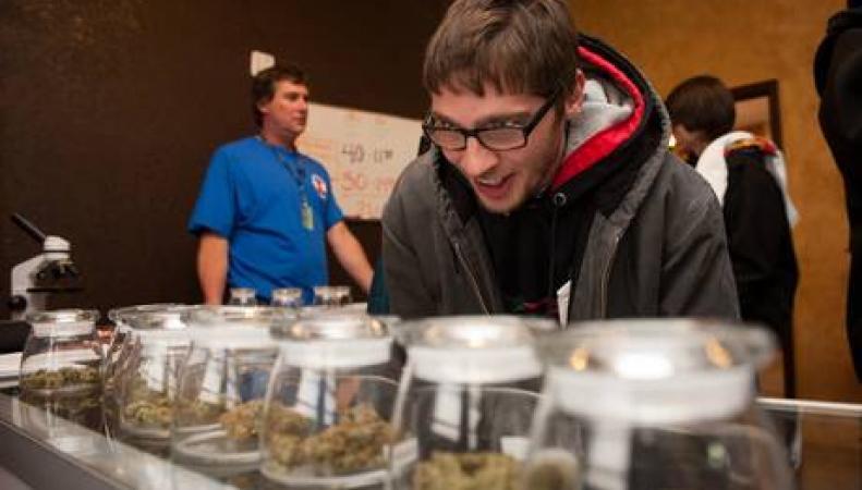 Лавка по продаже марихуаны в Колорадо