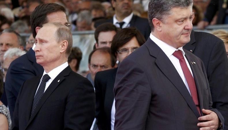 Путин и Порошенко в Бразилии не будут проводить отдельную встречу