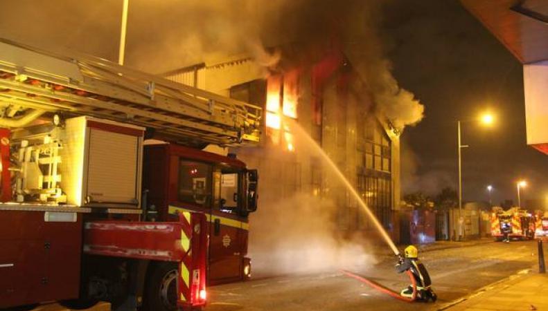 Пожар в Тоттенхэме