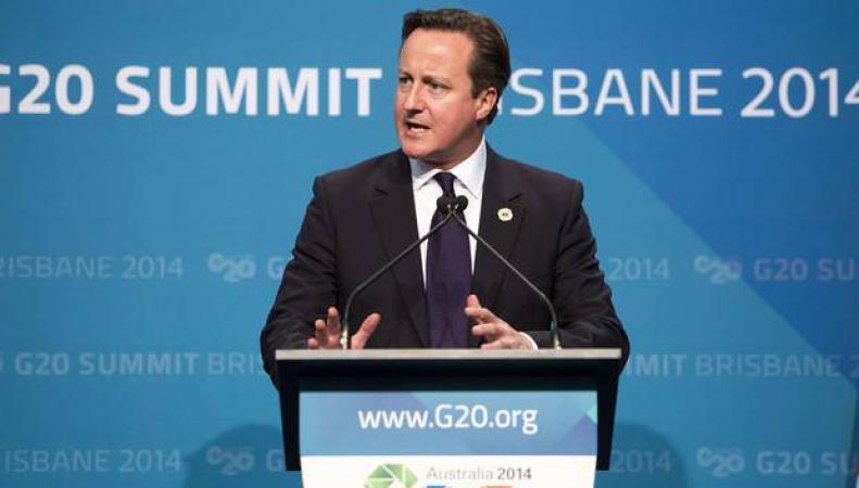 Дэвид Кэмерон на саммите G20