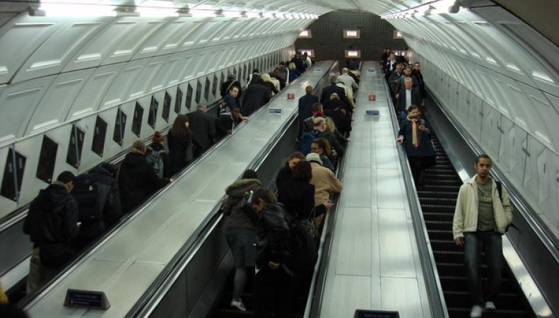 эскалатор на линии Central